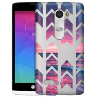 LG Tribute 2 Sunset Beach Arrows Case