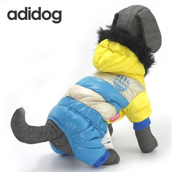 Addidog Winter Waterproof Dog Coats