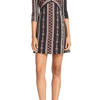 Free People 'Stella' Graphic Print Minidress | Nordstrom