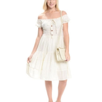 The Classic Peasant Dress - Brides & Bridesmaids - Wedding, Bridal, Prom, Formal Gown