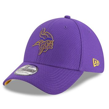 445170cfa Mens New Era Minnesota Vikings Purple 2018 NFL Training Camp Pri