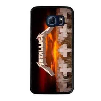 METALLICA MASTER OF PUPPETS Samsung Galaxy S6 Edge Case Cover