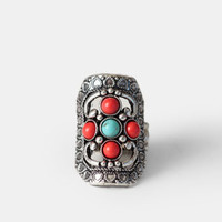One Way Southwestern Ring - $10.00 : ThreadSence, Women's Indie & Bohemian Clothing, Dresses, & Accessories