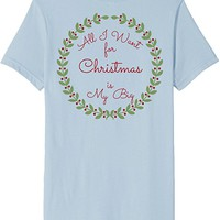 Cute Double Sided Big and Little Christmas Sorority TShirts