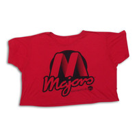 Women's Red Logo Crop Top