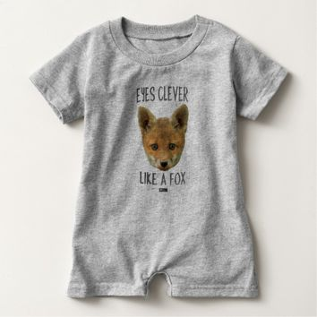 Eyes Clever Baby Design by Kat Worth Baby Romper