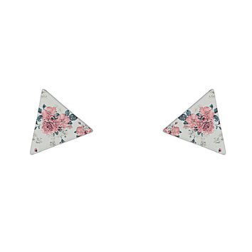 Floral Triangle Collar Tips - Jewelry - Bags & Accessories - Topshop USA