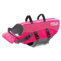Ripstop Adjustable Life Jacket for Dogs in Pink