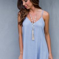 Ridgecrest Dress in Blue