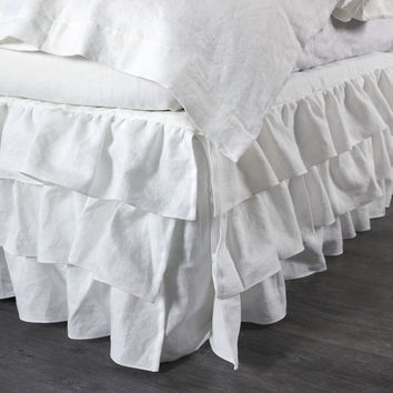 Waterfall Linen Valance