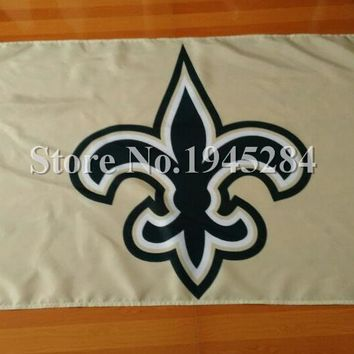 NFL New Orleans Saints Flag New 3x5ft 90x150cm Polyester Flag Banner 3003, free shipping