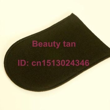 Tan Applicator Mitt for Tanning Lotion, Spray Tan or Bronzer, Soft Velvet can be Reusable, 1pc