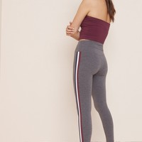 Ultra High Waist Side Stripe Legging