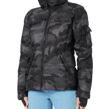 Freestyle Camo Puffer Jacket