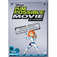 Kim Possible Movie: So The Drama (Widescreen) - Walmart.com
