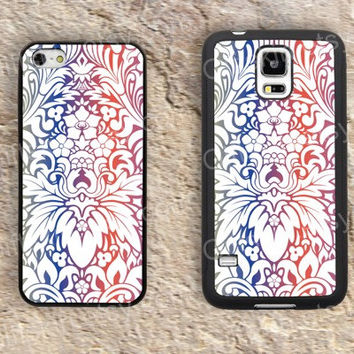 Colorful flower  Discoloration iphone 4 4s iphone  5 5s iphone 5c case samsung galaxy s3 s4 case s5 galaxy note2 note3 case cover skin 170