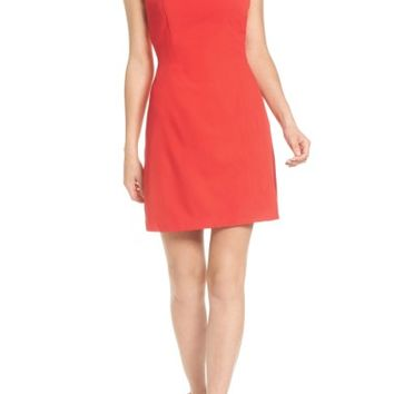 As U Wish Scallop Trim Sheath Dress | Nordstrom