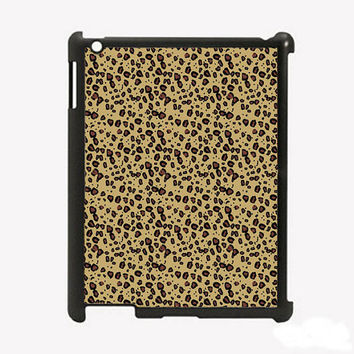 iPad 2 iPad 3 Leopard Hard iPad Case Comes in Black by KustomCases