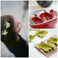 Christmas Butterfly Origami Clip Gift Set