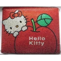 Hello Kitty Crystal & Rhinestone Apple Ipad 2/3/4 Case in Red By Jersey Bling