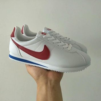 nike cortez women casual fashion multicolor leather running shoes retro sneakers-2