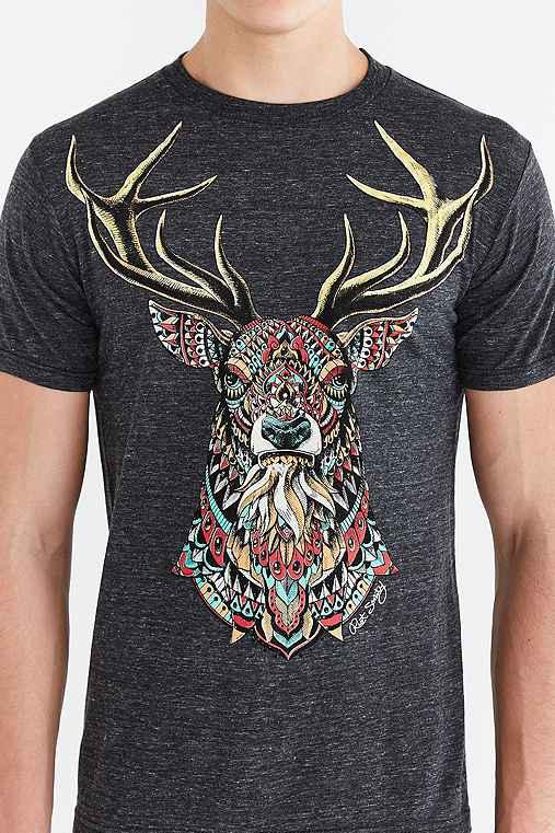 ed1e5385 Riot Society Ornate Buck Tee from Urban Outfitters