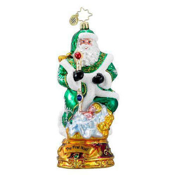 Christopher Radko The First Noel Glass Ornament