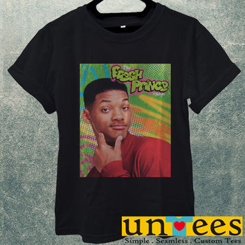 Low Price Men's Adult T-Shirt - Will Smith The Fresh Prince of Bel Air design