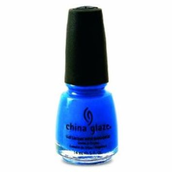China Glaze Nail Polish, Blue Sparrow, 0.5 Fluid Ounce