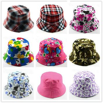 Bnaturalwell Kids Bucket Hat Sewing Pattern Baby Infant Toddler Child, Boy, Girl Hat Sewing Pattern Cotton sunhat 1pc H391