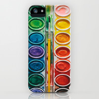 The Painter  iPhone & iPod Case by Laura Ruth