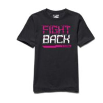 Under Armour Boys' UA Power In Pink Fight Back T-Shirt