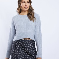 Sadie Shimmer Pullover Sweater