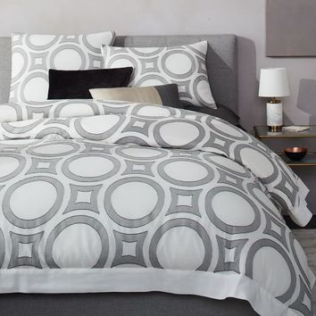 Roar + Rabbit Roundabout Jacquard Duvet Cover + Shams