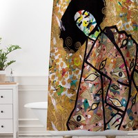 Amy Smith All eyes on you Shower Curtain And Mat