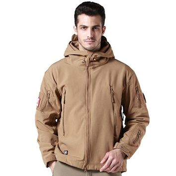 Upgraded TD V5.0 Military Tactical Jacket Men Outdoor Winter Thermal Breathable Waterproof Windproof Soft Shell US Army coats