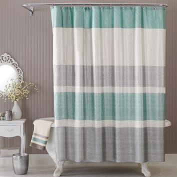 Better Homes & Gardens Glimmer Fabric Shower Curtain - Walmart.com