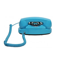 Turquoise 50's Cord Phone
