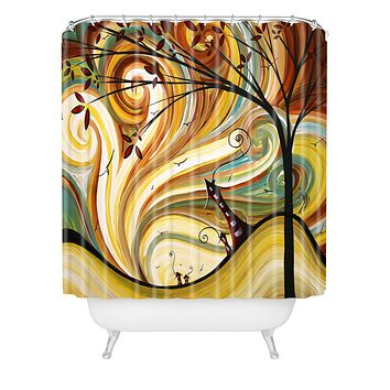Madart Inc. Out West Shower Curtain
