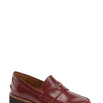 COACH 'Indie' Oxford Loafer (Women) | Nordstrom