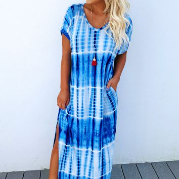 Land Of The Free Maxi: Blue/White