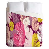 Rachael Taylor Funky Feathers Duvet Cover