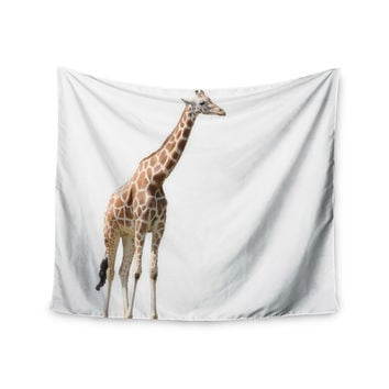 "Sylvia Coomes ""Giraffe"" Animals Photography Wall Tapestry"