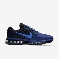 PEAPON3V NIKE AIR MAX 2017 Dark Blue & Black Men's Running Shoes Sneakers