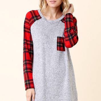 Plaid For You Tunic