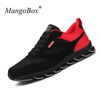 Different Colors Mens Sneakers Shoes New Trend Summer Men Sneakers Super Light Men Gym Shoes Comfortable Mesh Sneakers