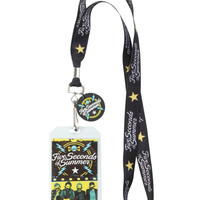 5 Seconds Of Summer Stars Lanyard