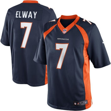 John Elway Denver Broncos Nike Retired Player Limited Jersey – Navy Blue