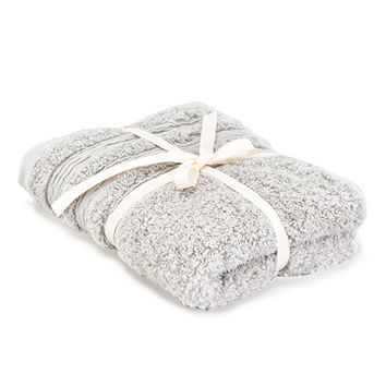 NITORI 21TC Egyptian Cotton Towel - Light Grey
