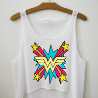 Wonder Woman - Hipster Tops